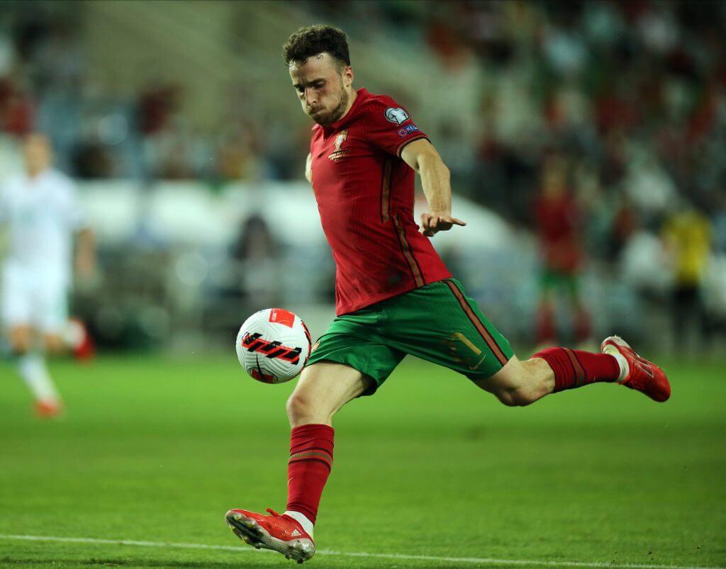 Diogo Jota: Navijači Liverpoola reagirali na napadačev ogled za Portugal 1