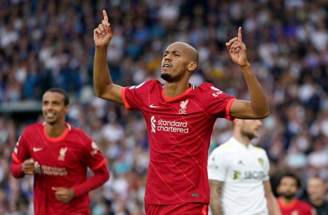 Navijači Liverpoola reagirali na Fabinhov ogled protiv Leeds Uniteda 1